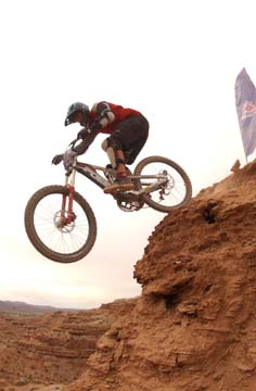 Chris ODriscoll - Red Bull Rampage 2001
