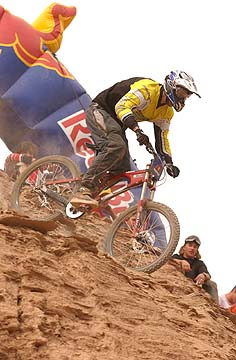 Dave Watson - Red Bull Rampage 2001