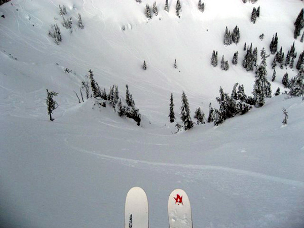 Dropping Into Crystal Mountain's Offering