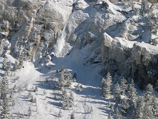 Hellgate Cliffs in Little Cottonwood Canyon