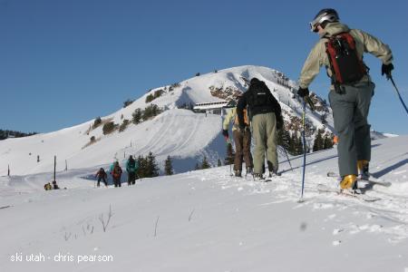 Ski Utah Interconnect Tour - Traversing from Deer Valley