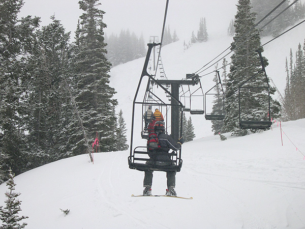 Jupiter Lift at Park City