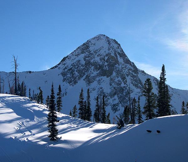 Pfeifferhorn - Utah backcountry