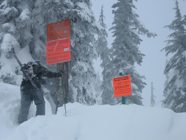 Stevens Pass Ski Resort Backcountry