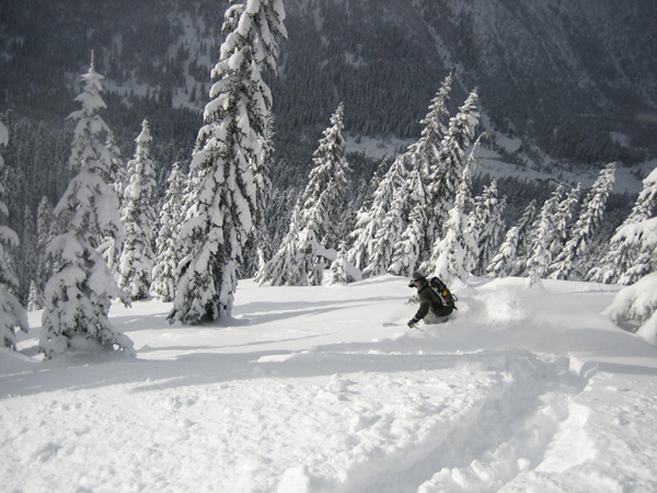 Stevens Pass Powder Day