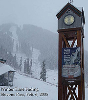 Stevens Pass, Washington - sad times