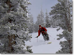 Utah Backcountry Powder Skiing in Little Cottonwood Canyon