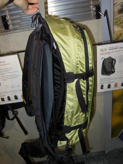 Mountain Hardwear Huckster Backcountry Ski Pack - Suspension Design