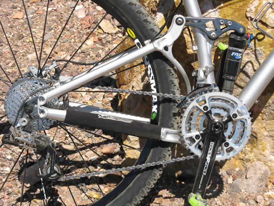 Niner RIP 9 29er Mountain Bike - Suspension Design