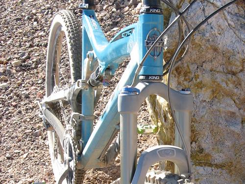 2008 Yeti 575 Enduro Frame Closeup