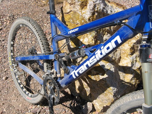 2008 Transition Covert Mountain Bike