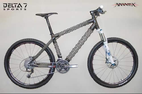 Delta 7 Sports Arantix IsoTruss Carbon Fiber Mountain Bike
