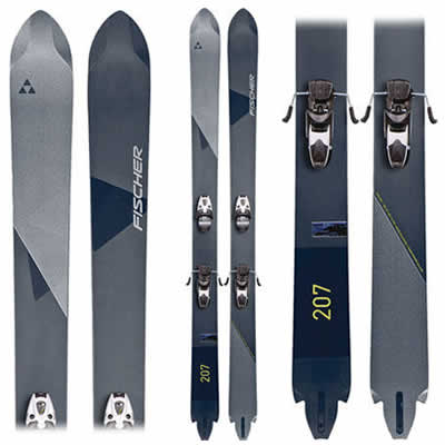Fischer Duke 207 - Fat, Straight Powder Skis