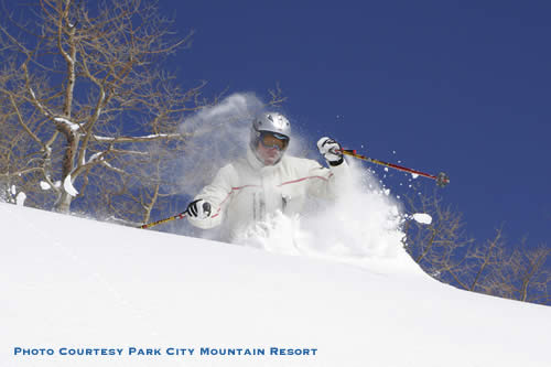 Park City Mountain Resort Powder Skiing