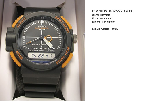 Casio ARW-320 Altimeter Watch