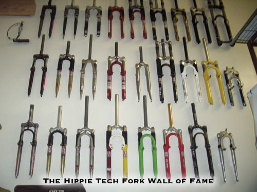 The Hippie Tech Suspension Fork Wall of Fame