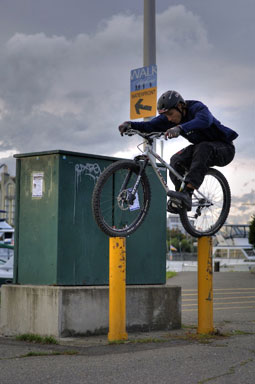 Ryan Leech Starring in his New Trials Riding Film, Crux