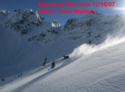 Silverton Mountain Expands Operation Schedule Dec 2007