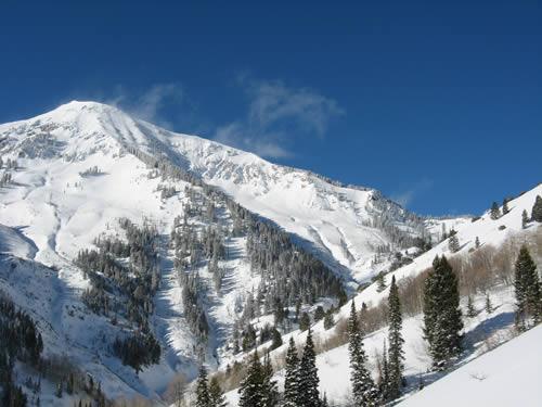 Box Elder Peak - Winter