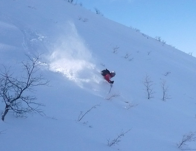 Derek Weiss - glad he's skiing in Utah