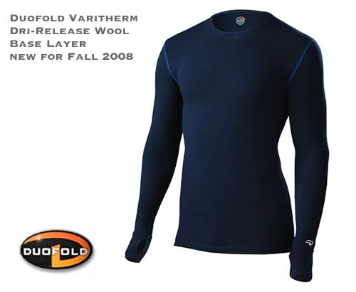 Duofold Varitherm Dri-Release Wool Base Layers