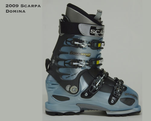 2009 Scarpa Domina Women's-specific Alpine Touring Boots