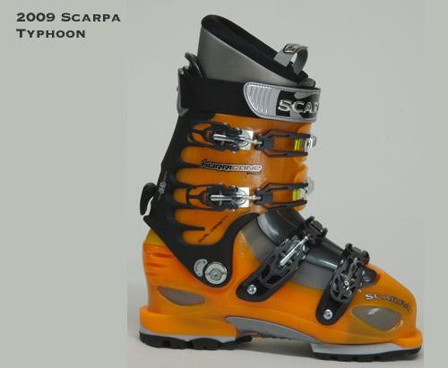 2009 Scarpa Typhoon Alpine Touring Ski Boots
