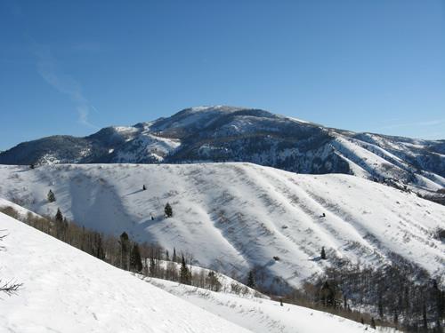 West Ridge of Silver Lake Flats Utah