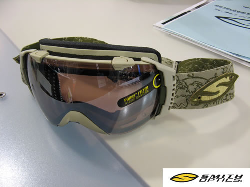 Smith I/O Evolve Goggle Made with Recycled Materials