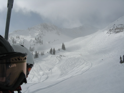 Mineral Basin is Powder Paradise