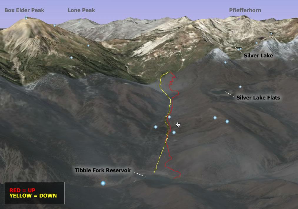 American Fork Canyon Backcountry Skiing - January 2008