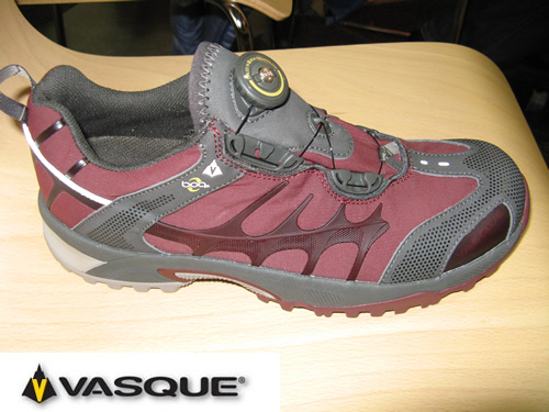 Vasque Aether Tech Softshell Trail Running Shoes - New for 2008
