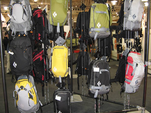 Black Diamond AvaLung Ski Packs - New for 08/09 Season