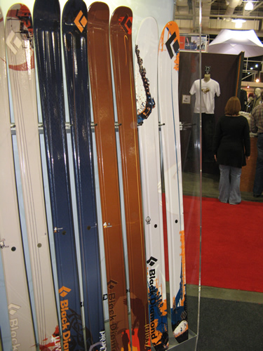 Black Diamond Fat Ski Lineup - Kilowatt, Verdict, Zealot, Megawatt