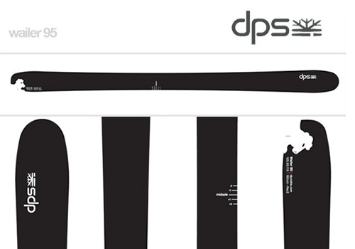 DPS Skis Wailer 95 Powder Skis