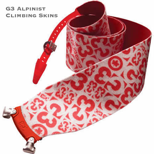 G3 Alpinist Climbing and Ski Touring Skins