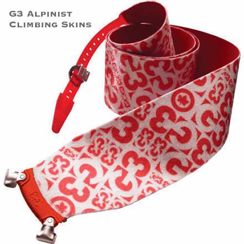 G3 Alpinist Climbing and Ski Touring Skins