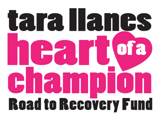 Donate to the Tara Llanes Heart of a Champion Recovery Fund