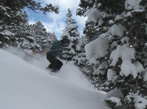 Jason Mitchell - Skiing in Evergreen at Solitude Resort