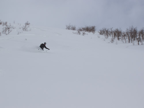 Jason Mitchell - Backcountry Skiing in American Fork Canyon