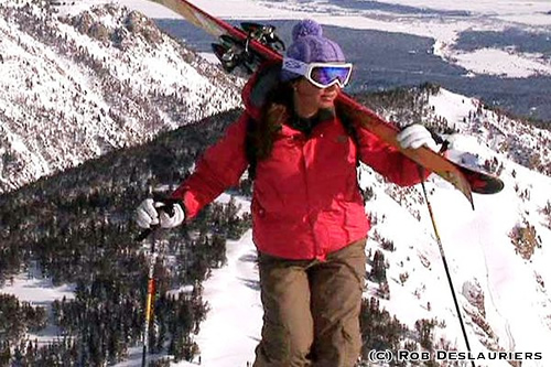 Kit DesLauriers - First to Ski Descend all Seven Summits