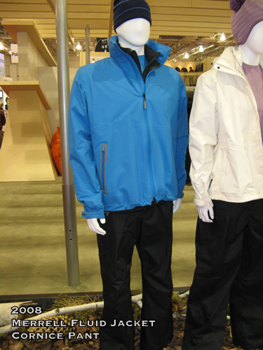 2008 Merrell Fluid Jacket and Cornice Pant