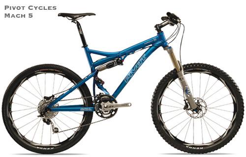 2008 Pivot Cycles Mach 5 Mountain Bike