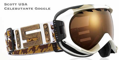 08/09 Scott USA Celebutante Ski Goggles
