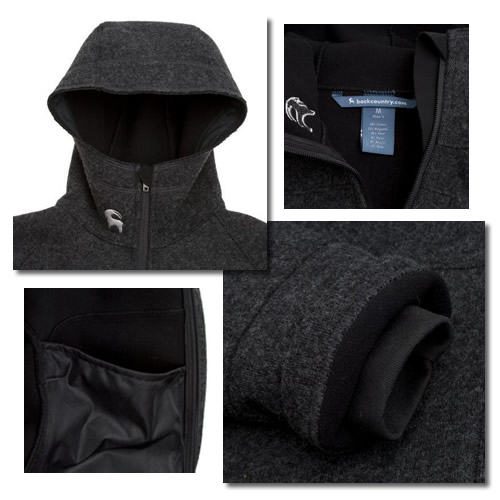 Backcountry.com Wool Hooded Jacket Review