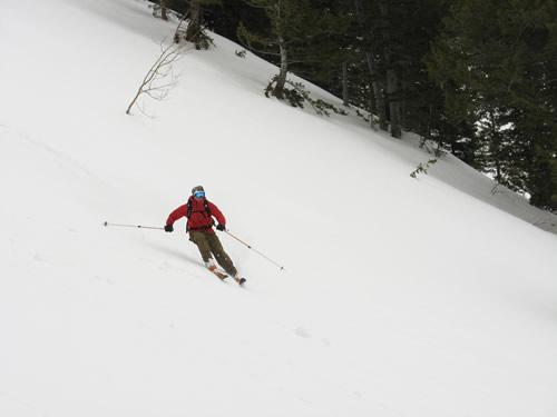 Ben Brutsch Getting Some on Box Elder Peak, Utah