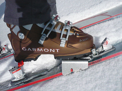 Garmont Axon Alpine Touring Ski Boot with Dynafit Bindings