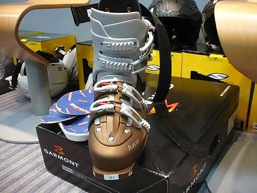 Garmont Axon Alpine Touring Ski Boot - toe view