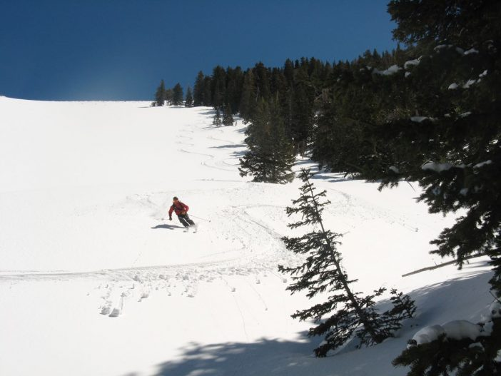 Some great turns were had before the sun baked it too much.