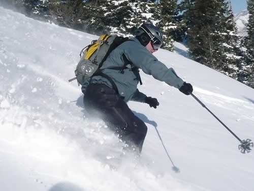 Sierra Designs Mantra Winter Pants - New for Fall 2008 - Jason Mitchell in the Utah Backcountry